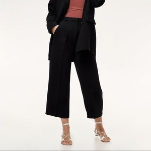 Aritzia Talin Wide-Leg Cropped Trouser
